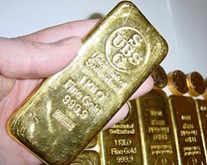 Gold Key, weighing one kilogram is used to acc...