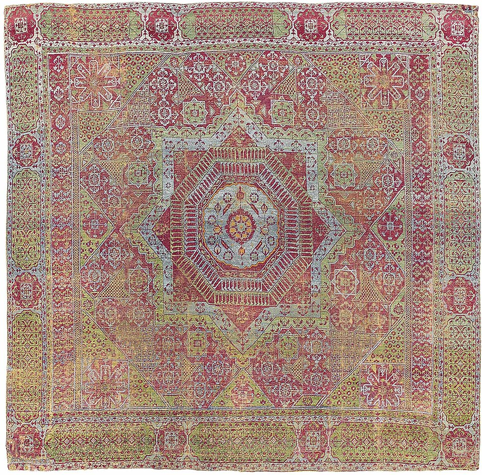 Teppichmuster Orient Oriental Rug Howling Pixel