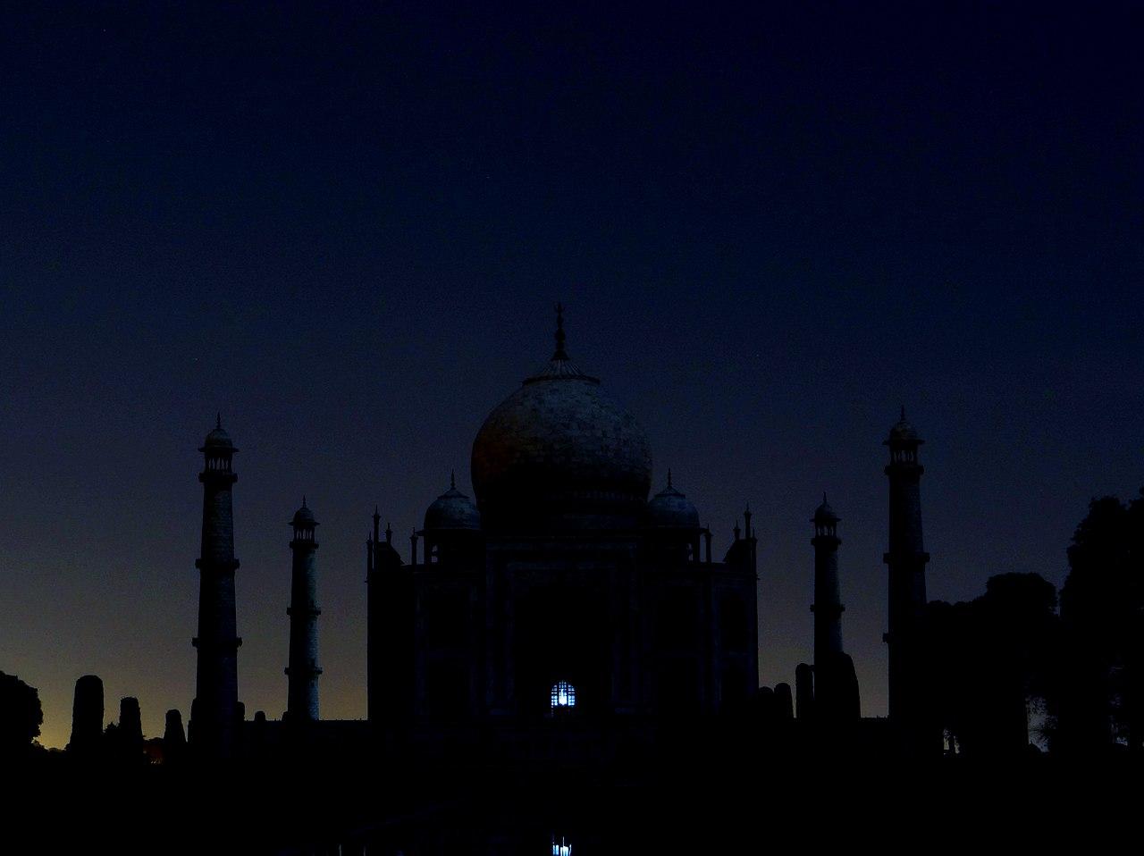 Taj Mahal Hd Wallpaper File Taj Mahal Agra At Night Jpg Wikimedia Commons