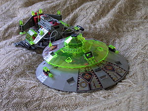 Lego Alien Raumschiff