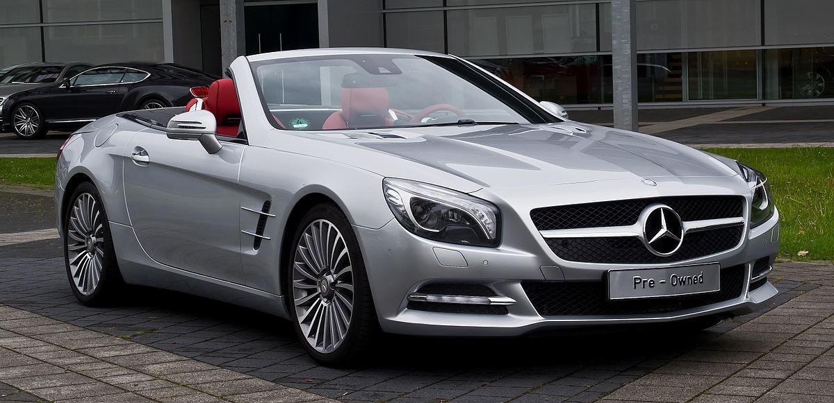 Mercedes-Benz SL-Class (R231) - Wikipedia