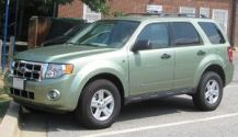 2008 Ford Escape Hybrid photographed in Colleg...