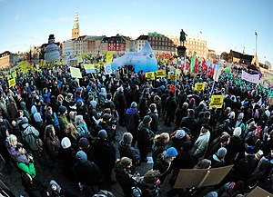 12 Dec. 2009, Copenhagen, Denmark - Global Day...