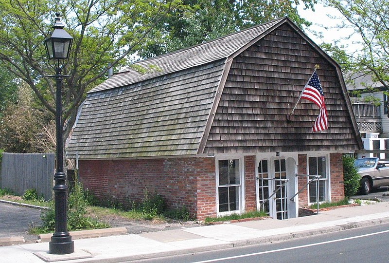 Umbrella House, oldest structure in Sag Harbor, New York, which - rental reference letter