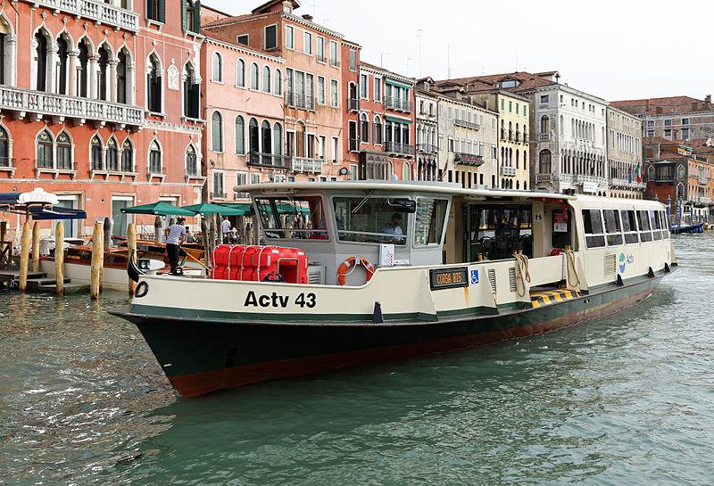 Filevenezia Vaporetto Actv43 R01jpg Wikimedia Commons