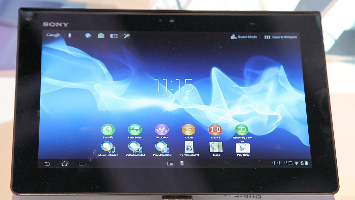 Der Tablet Sony Xperia Tablet S Wikipedia