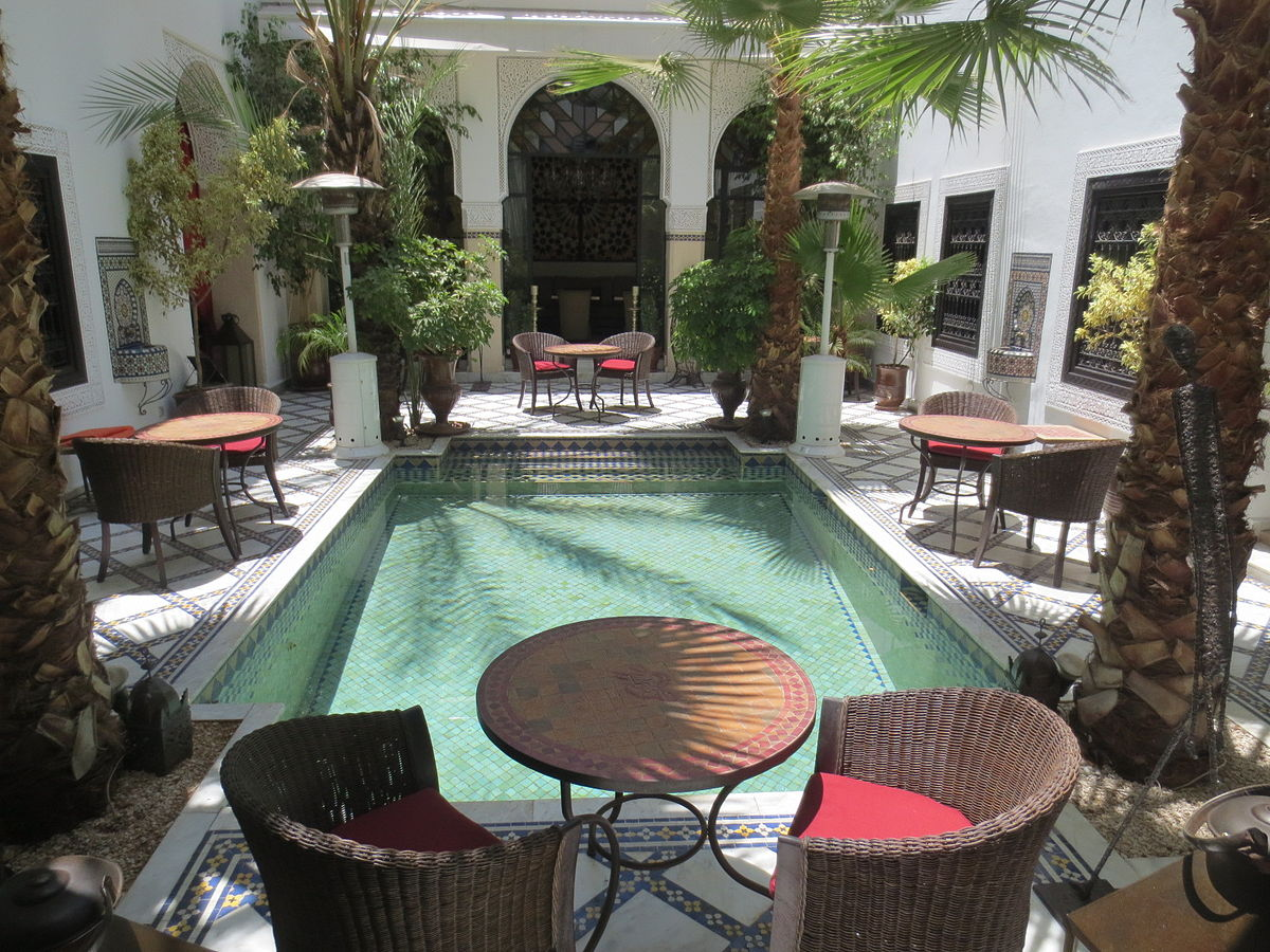 Bassin De Terrasse Moroccan Riad - Simple English Wikipedia, The Free