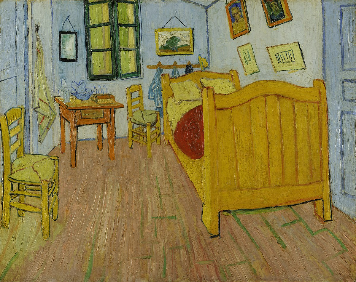 La Camera Da Letto Vincent Van Gogh Bedroom In Arles Wikipedia