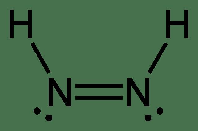 n2h4 dot diagram