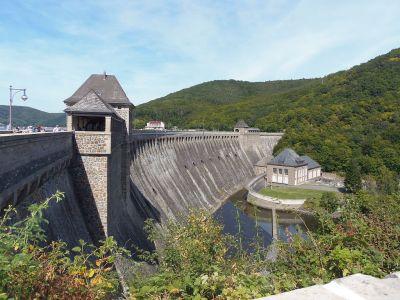File:Edersee Dam, Waldeck-Frankenberg, Hesse, Germany.JPG - Wikimedia Commons
