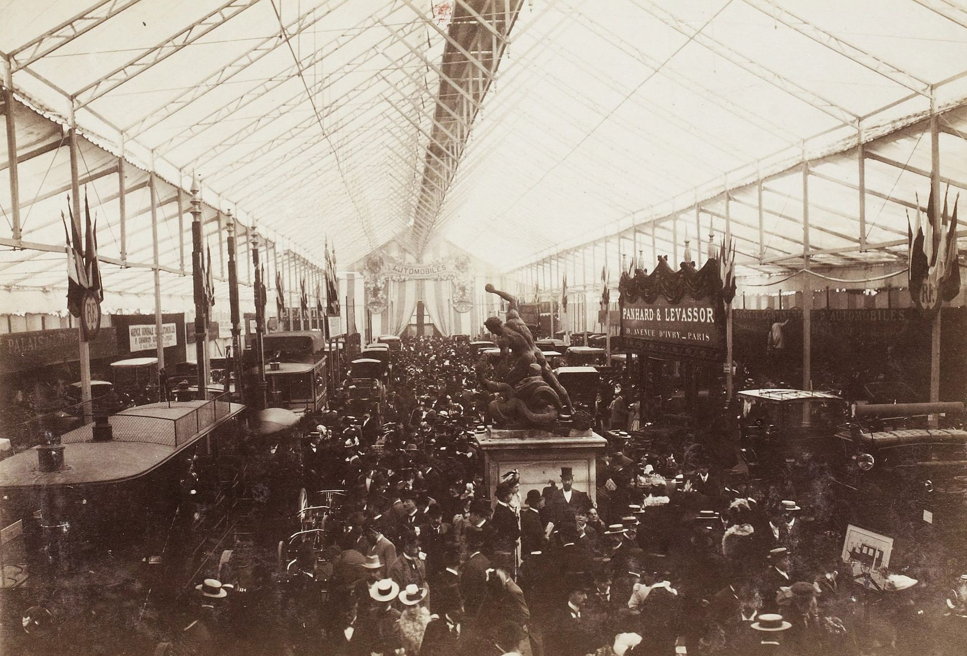 Salon De Jardin En L Salon De L'automobile De Paris 1898 — Wikipédia