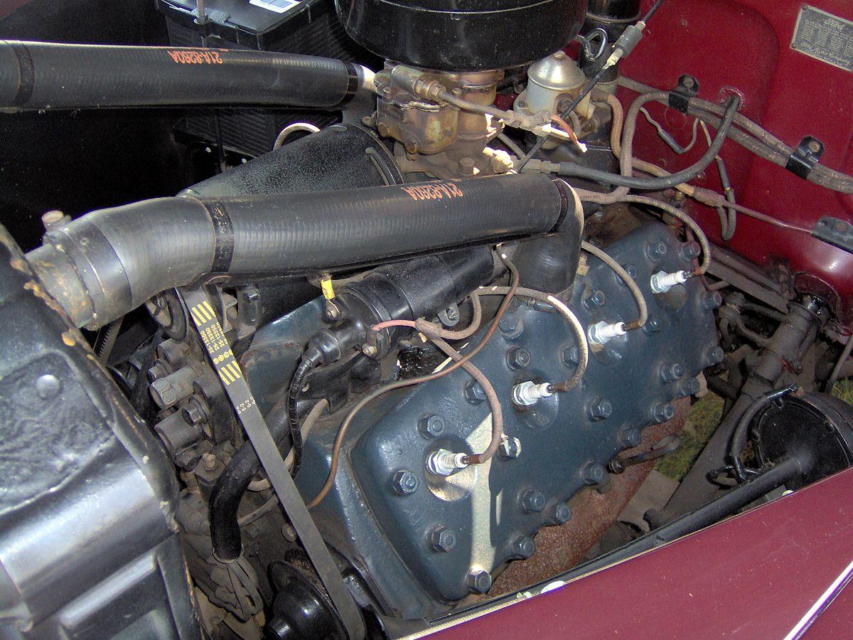 flat head engine diagram