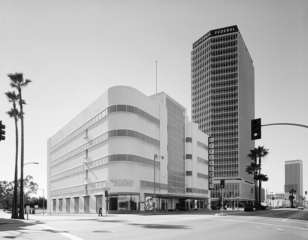 Art Deco Style History File:los Angeles, Ca Coulters Department Store (the
