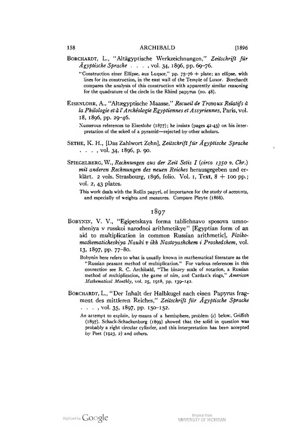 Vol Strasbourg Page The Rhind Mathematical Papyrus Volume I Pdf 174 Wikisource