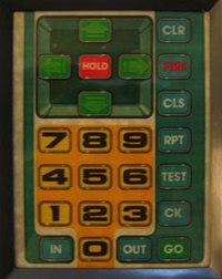 BigTrak Keypad (US)