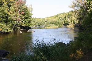The Wolf River in Langlade County