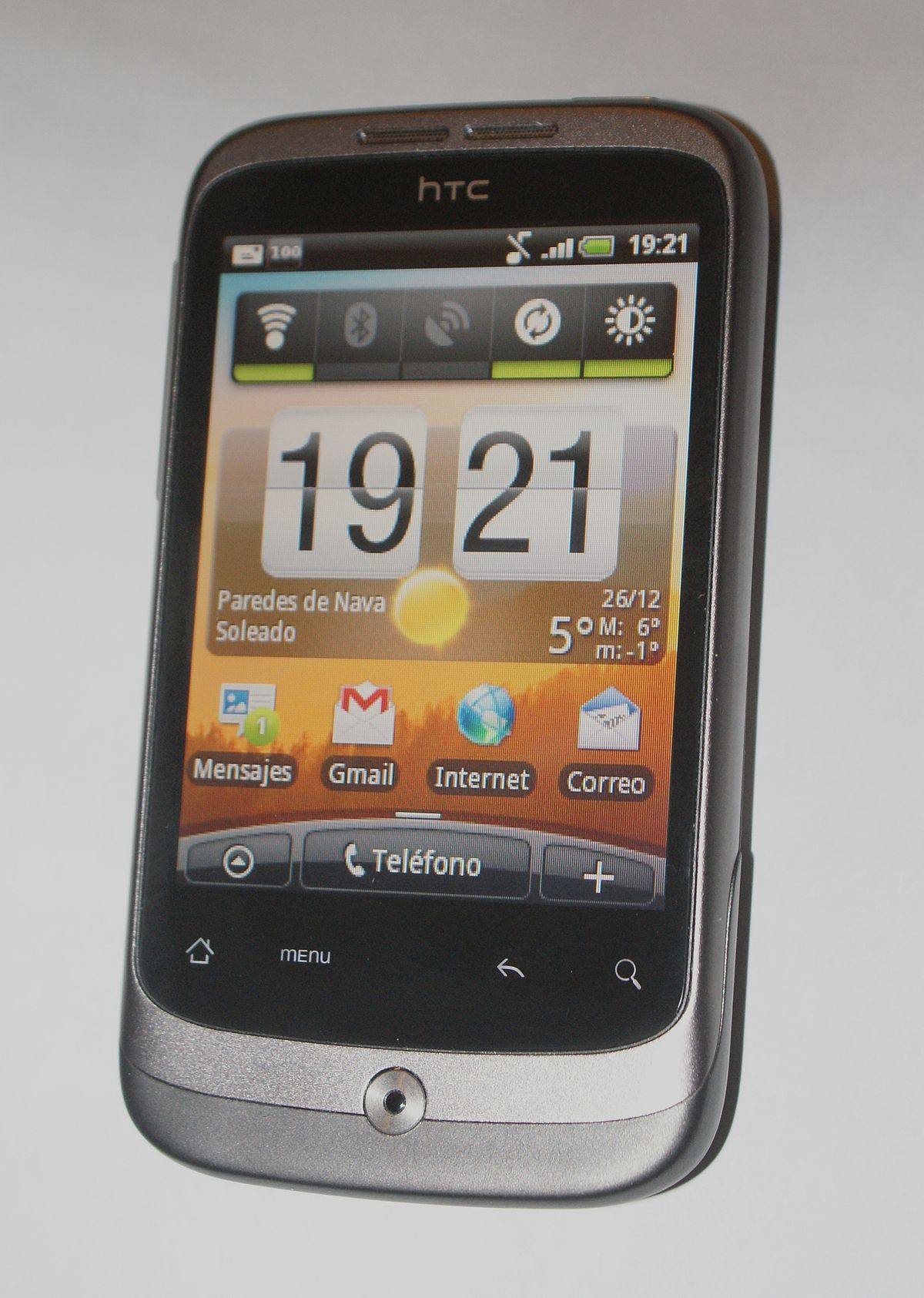 manual for htc wildfire