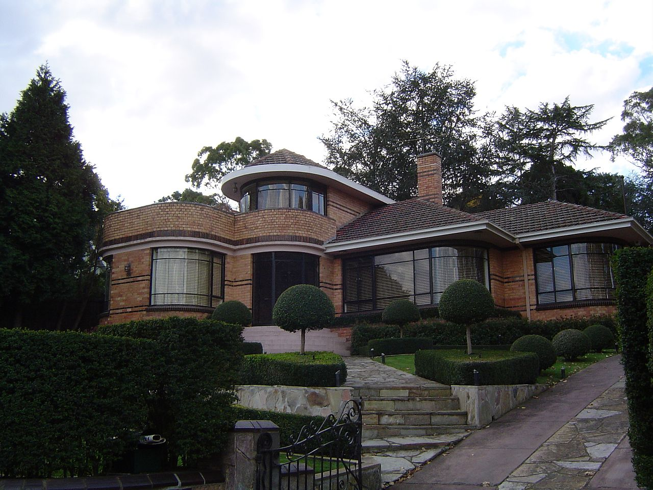 Art Deco Homes File Waterfall Art Deco Style House In Eaglemont