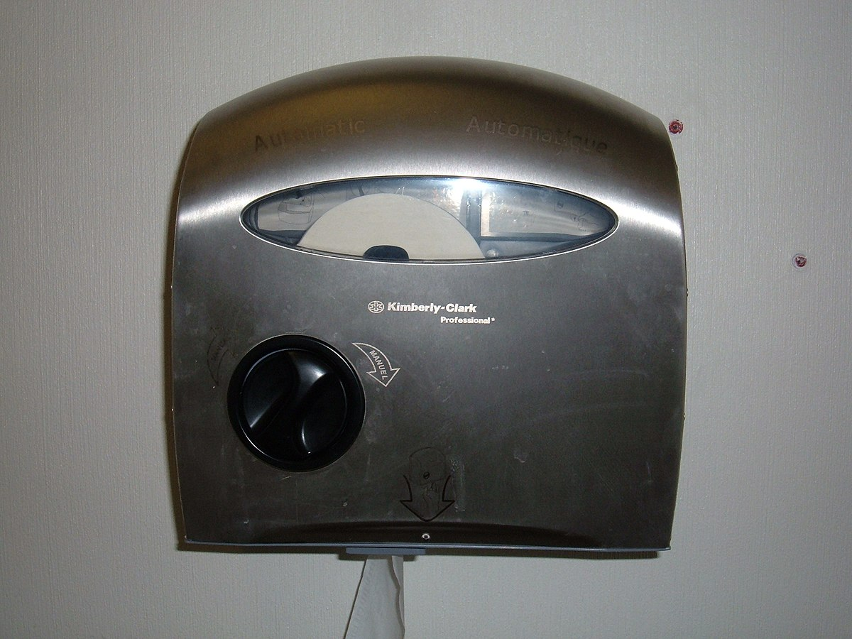 Tp Dispenser Automatic Toilet Paper Dispenser Wikipedia