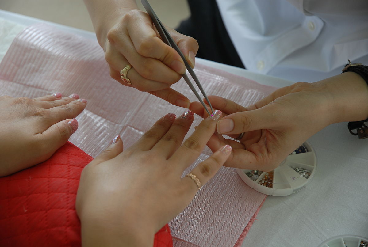 Nail Salon Manicure Wikipedia