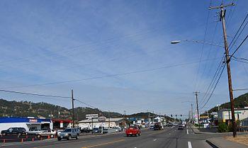 English: North Roseburg, Oregon