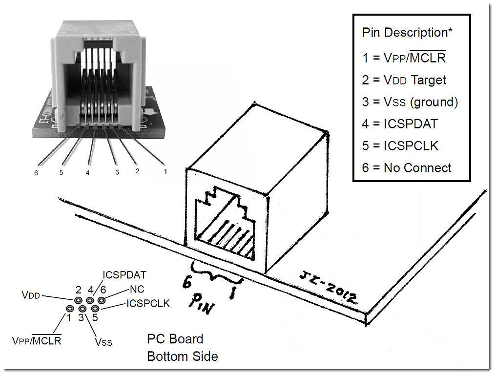 rj11 6 pin wiring diagram