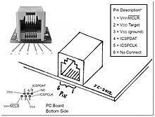 rj11 4 pin connector diagram