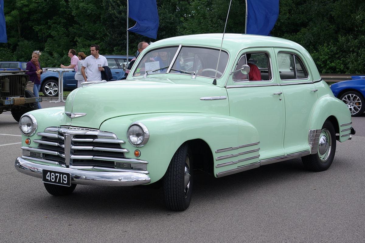 Chevrolet Fleetline Wikipedia