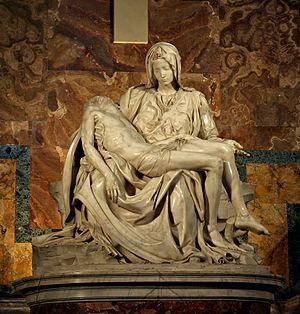 Michelangelo's Pietà in St. Peter's Basilica i...