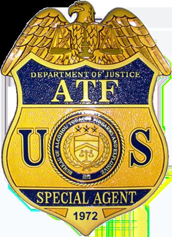 English: Badge of the Bureau of Alcohol, Tobac...