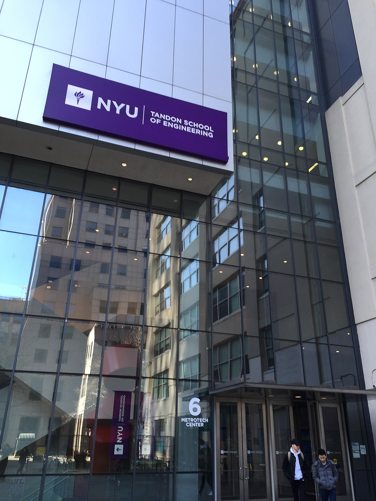 Nyu Tisch School Of The Arts Location New York University Tandon School Of Engineering Wikipedia