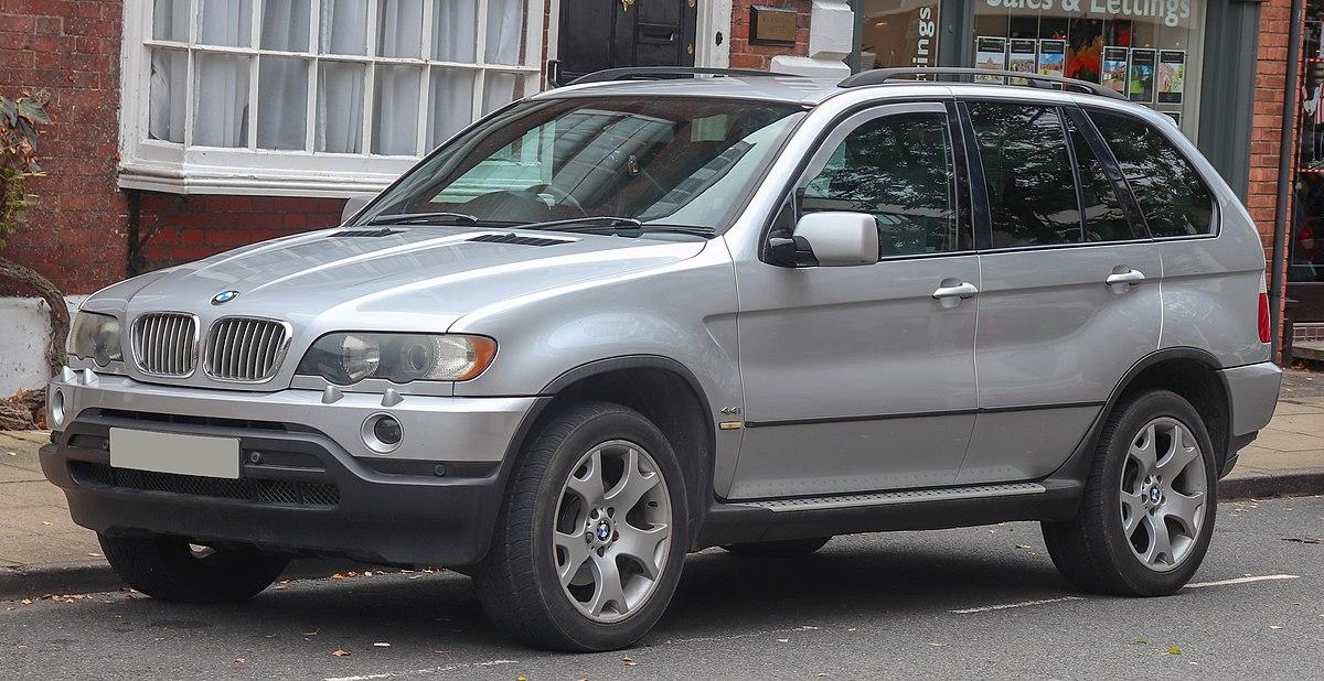 BMW X5 (E53) - Wikipedia