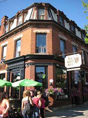 English: The Black Bull pub in Toronto