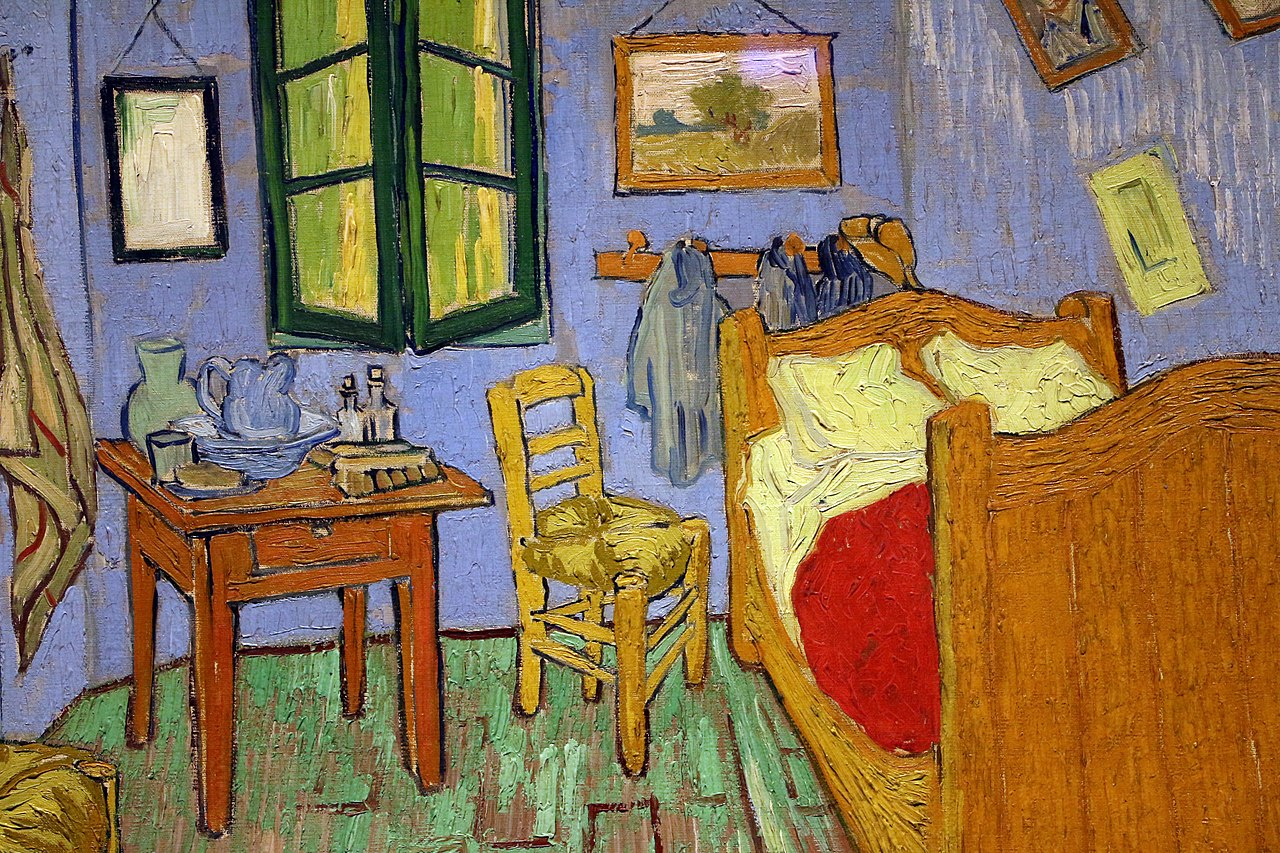 La Camera Da Letto Vincent Van Gogh File Vincent Van Gogh La Camera Da Letto 1889 02 Jpg