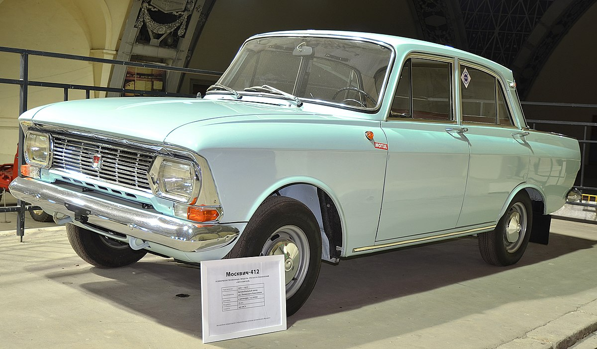 Free Wallpaper Old Cars Moskvitch 412 Wikipedia
