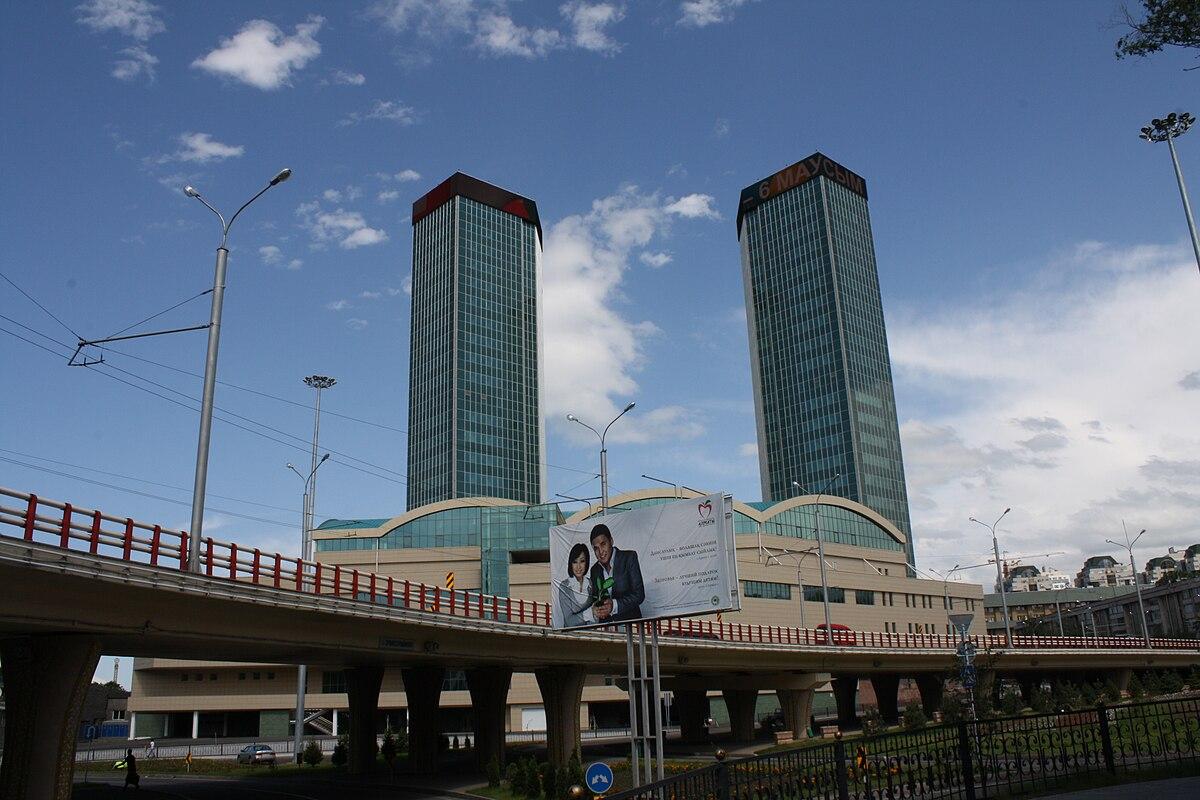 Building Construction Wallpaper Hd Almaty Towers Wikipedia