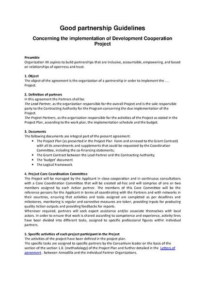 FilePartnership Agreement Guidelinespdf - Wikimedia Commons