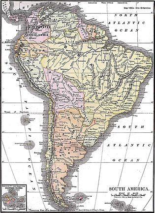 History of South America - Wikipedia