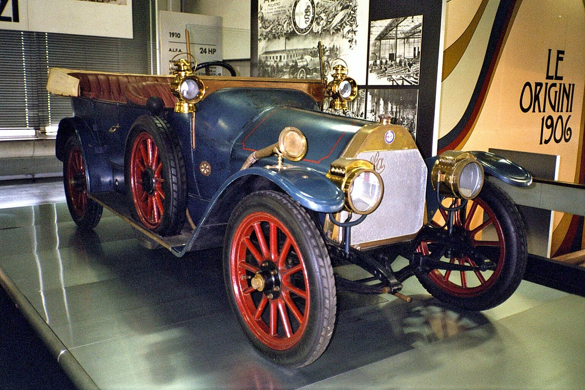 Production Factory Manufacturer Alfa 24 Hp Wikipedia