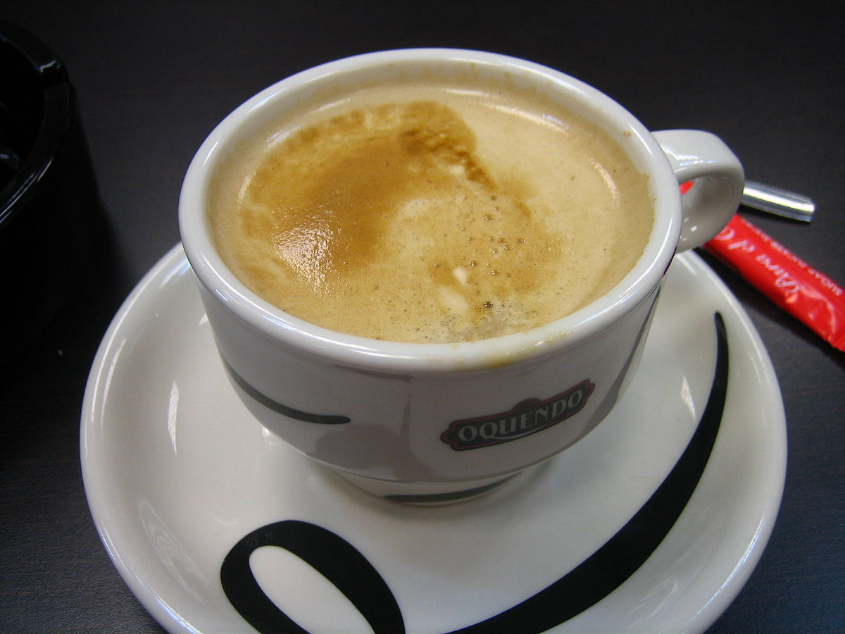 What Is A Coffee Latte Café Con Leche Wikipedia