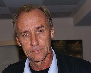 English: Håkan Nesser at a crime fiction festi...