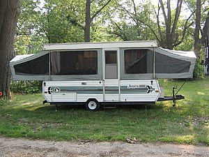 English: Jayco pop up 2006 tent camper