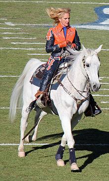 Girl Riding Horse Wallpaper Thunder Mascot Wikipedia