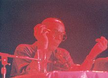 Hunter S. Thompson speaking at Bogart's night club in Long Beach, California