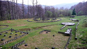 English: Sarmizegetusa Regia, Romania