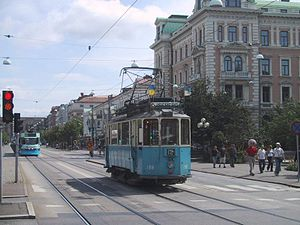 Gothenburg's popular tram system covers most o...