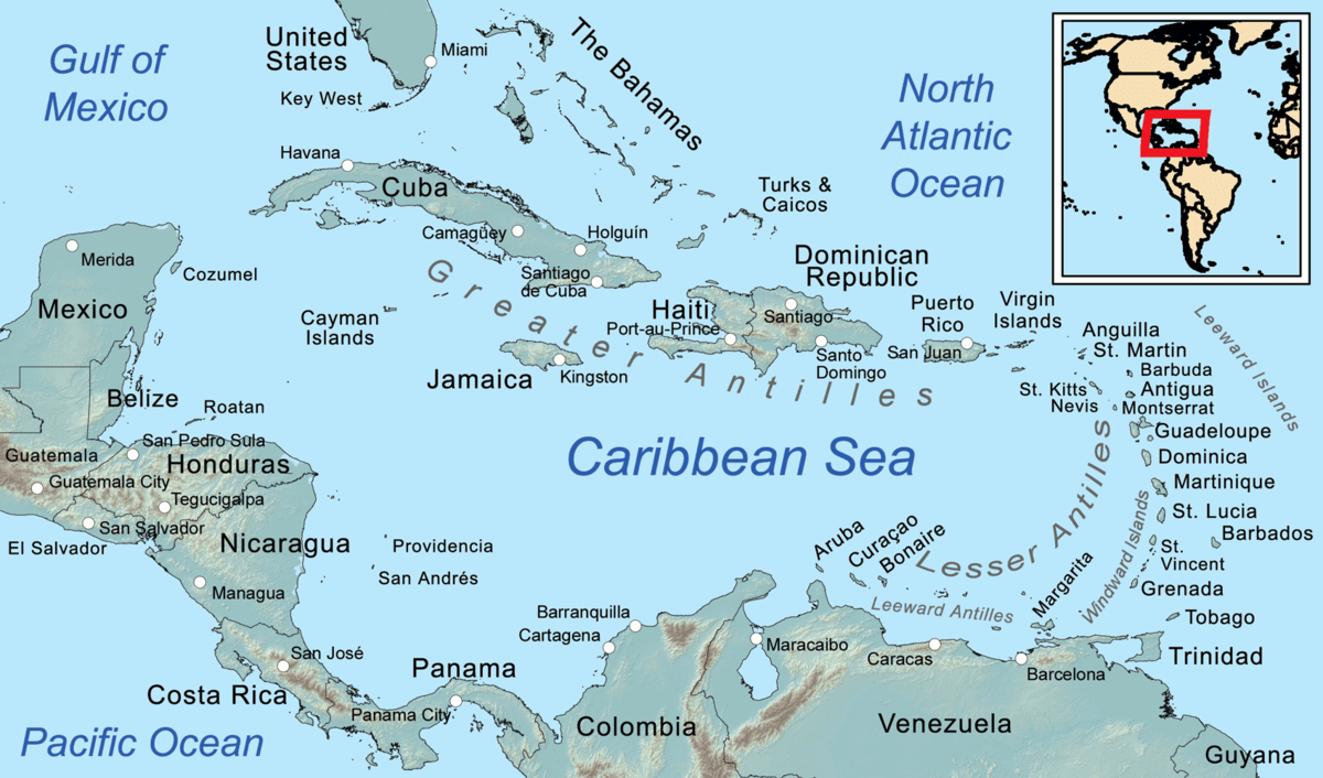 Caribbean Sea Wikipedia