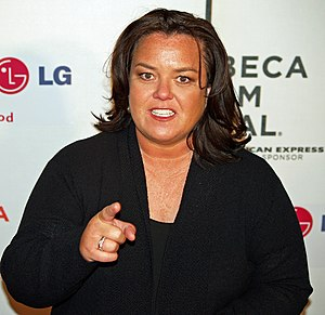 Rosie O'Donnell at the premiere of I Am Becaus...