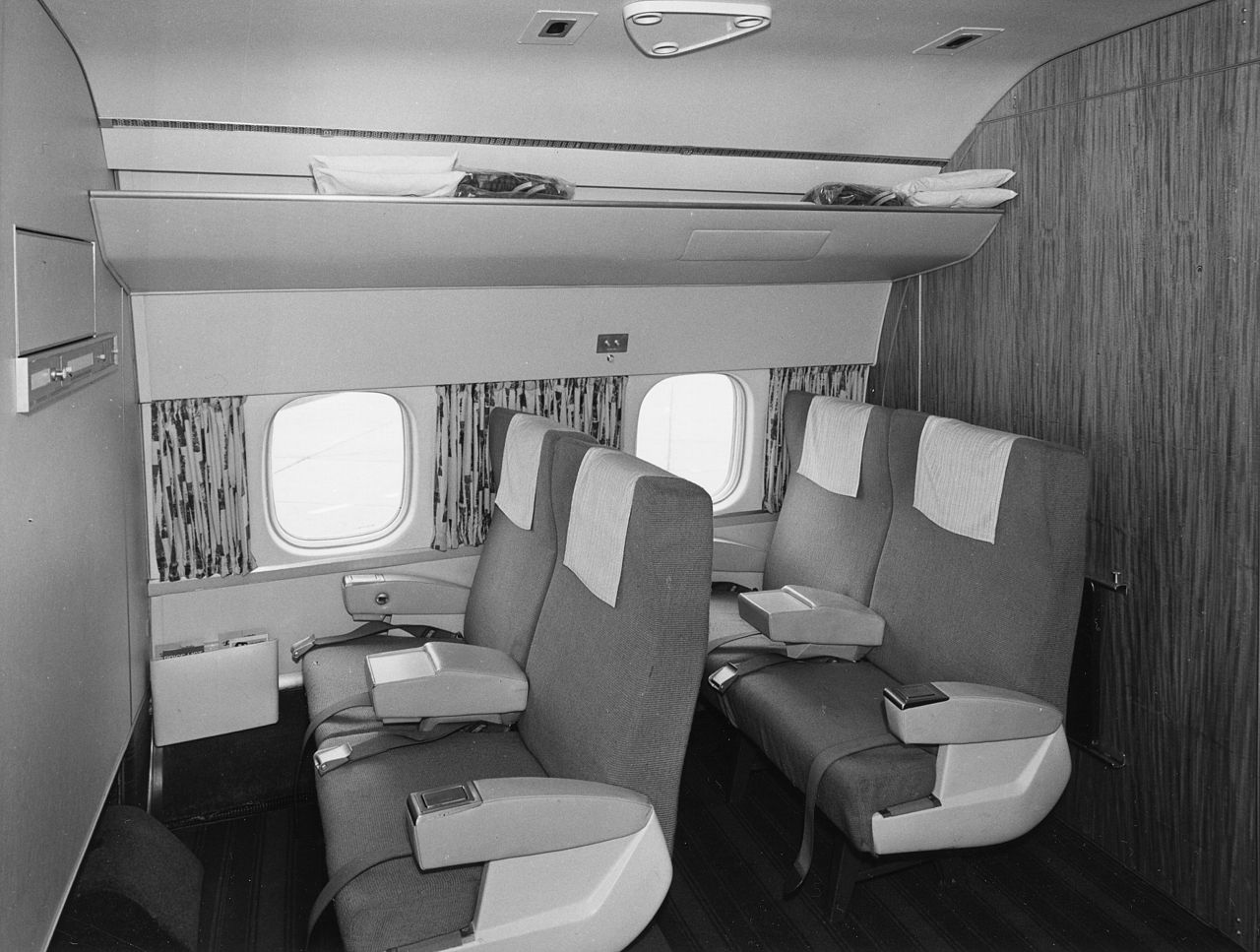 Scandinavian Interior File:sas Dc-8-33 Interior And Design Before Delivery