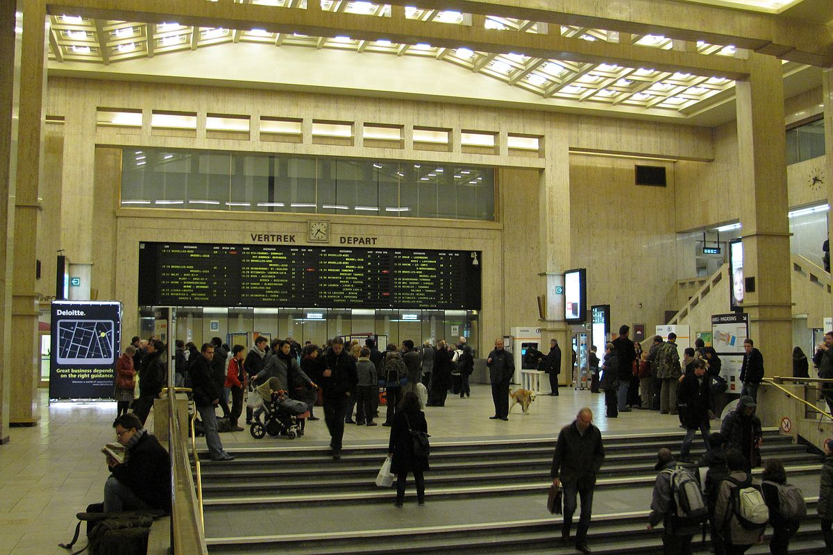 Bruxelles Paris Bus Brussels Central Station Wikipedia